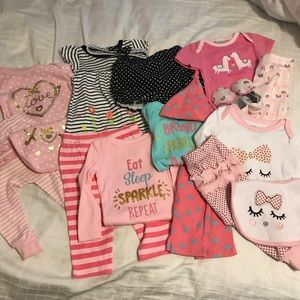 Other - NWOT Baby Girl Bundle // 3-6 Months